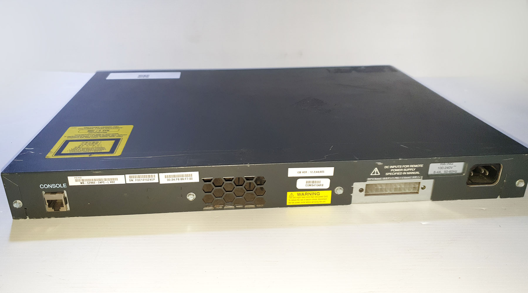 Cisco Catalyst 2960 Switch  Used A Gigabyte 24 PoE