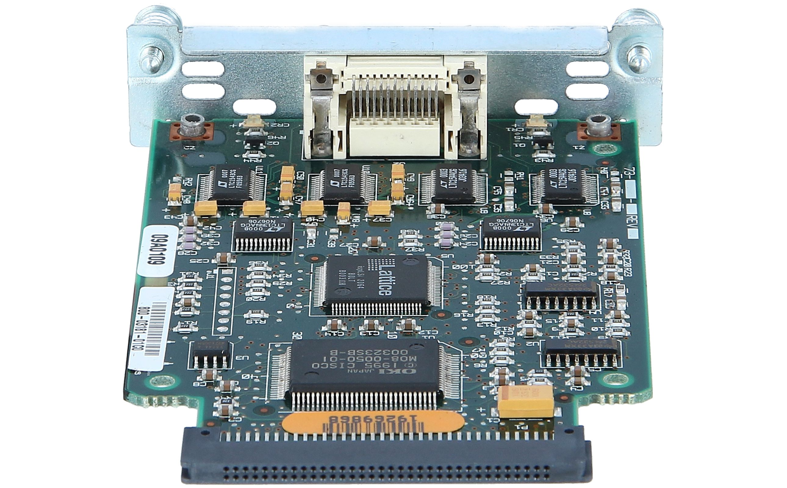CISCO - WIC-2T - 2-Port Serial WAN Interface Card USED A