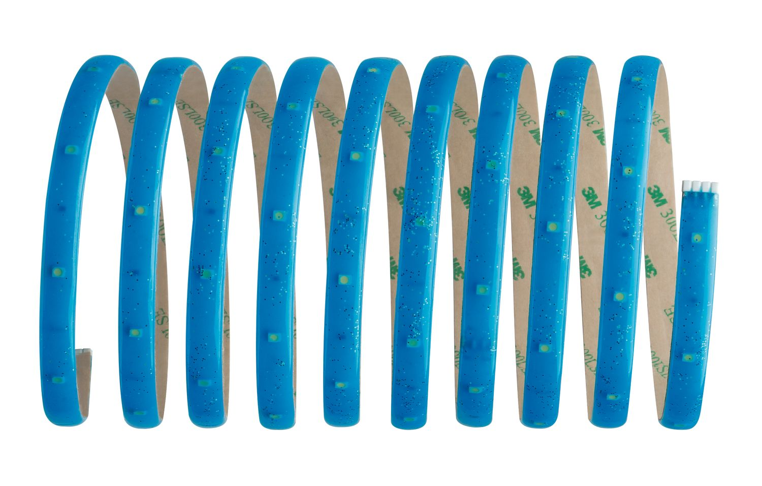 Basic Set Deco Stripe Glitter 3M Blue