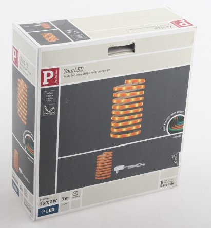 Paulmann Orange 70506 LED strip with 12V PS 300 cm