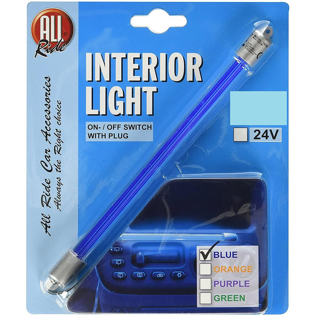 Blue Neon Interior Lamp 24V