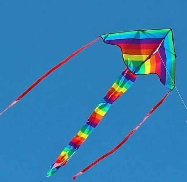 Fancy Multi Color Kite 15 Meter