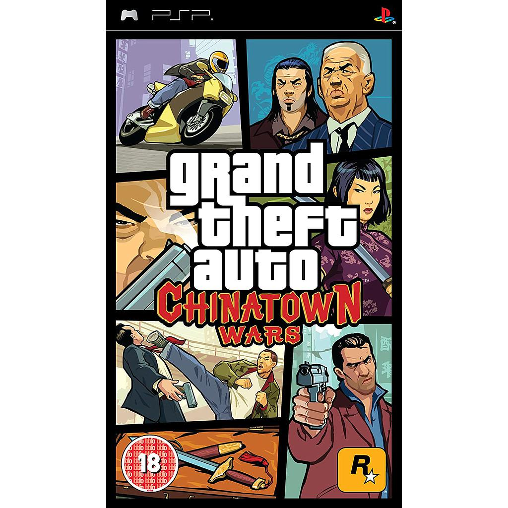 Grand Theft Auto Chinatown Wars for Sony PSP