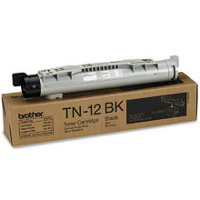 Brother TN 12 BK Brown Box AA Black Toner